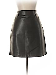Banana Republic Women Leather Skirt Size 8