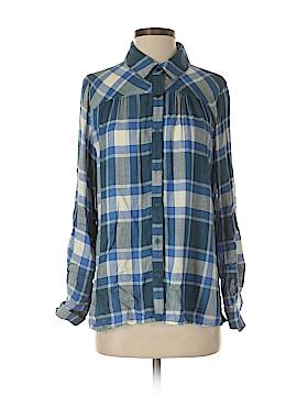 Canyon River Blues 3/4 Sleeve Button-Down Shirt Size M