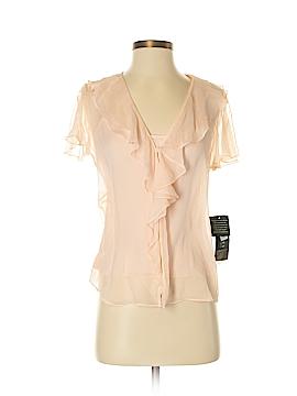 Lauren by Ralph Lauren Short Sleeve Silk Top Size 4