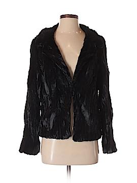 Aqua Faux Fur Jacket Size S