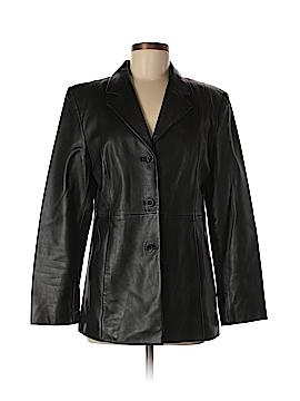 Valerie by Valerie Stevens Leather Jacket Size M
