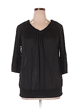 Mary McFadden 3/4 Sleeve Top Size 1X (Plus)