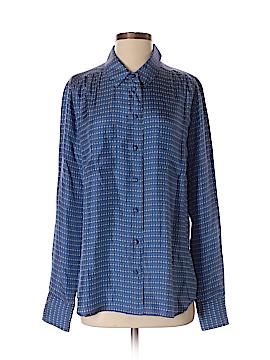 J. Crew Long Sleeve Silk Top Size 12