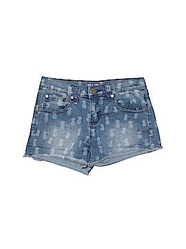 Aqua Denim Shorts Size 16