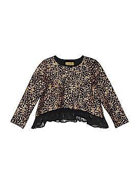 Nicole Miller New York Long Sleeve T-Shirt Size 4