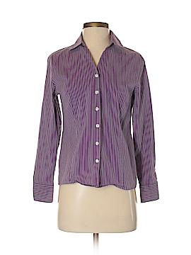 Karen Scott Long Sleeve Button-Down Shirt Size S