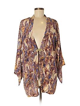 Winter Kate Silk Cardigan Size M