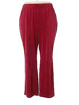 Karen Scott Velour Pants Size 3X (Plus)