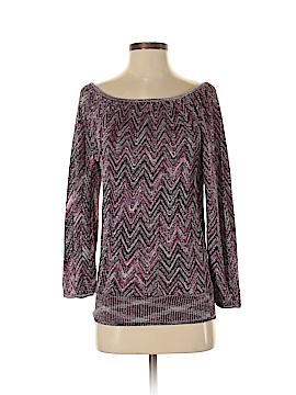 Inc Denim Pullover Sweater Size S