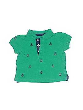 Little Me Short Sleeve Polo Size 6 mo