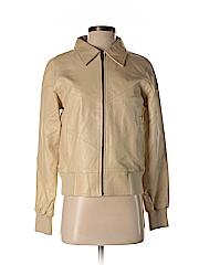 WE Women Leather Jacket Size M