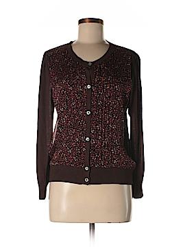 Donna Karan New York Silk Cardigan Size L