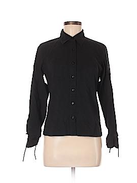 Apostrophe 3/4 Sleeve Button-Down Shirt Size 6
