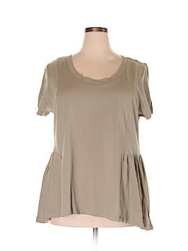 American Rag Cie Short Sleeve T-Shirt Size 1X (Plus)