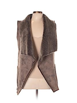 Velvet Faux Leather Jacket Size L