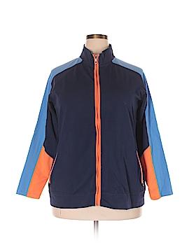 D&Co. Track Jacket Size 1X (Plus)