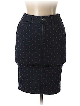 Pilcro and The Letterpress Denim Skirt 25 Waist