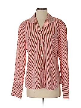 Rena Rowan Long Sleeve Button-Down Shirt Size 10