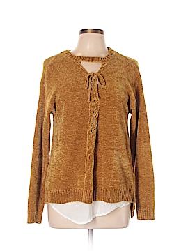 Democracy Pullover Sweater Size L