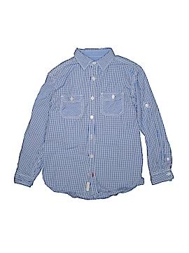 Weatherproof Long Sleeve Button-Down Shirt Size 12