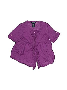 Chaps Short Sleeve Blouse Size 2T - 2