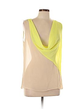 Sofia by Sofia Vergara Sleeveless Button-Down Shirt Size L