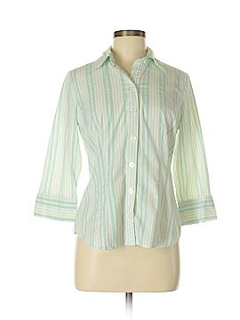 Hillard & Hanson Long Sleeve Button-Down Shirt Size M