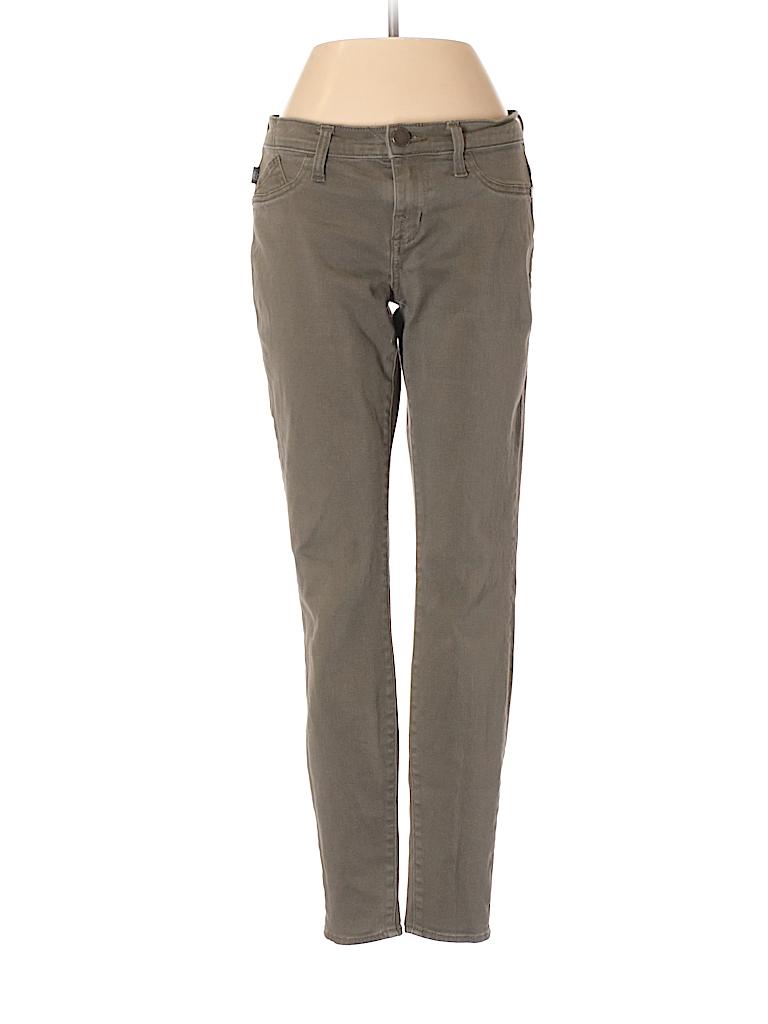 rock republic solid dark green jeans size 4 80 off thredup. Black Bedroom Furniture Sets. Home Design Ideas