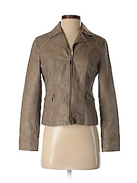 Alfani Faux Leather Jacket Size P (Petite)