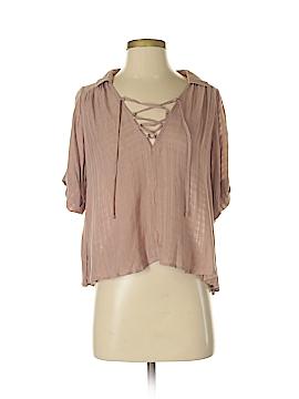 Ecote Short Sleeve Blouse Size XS