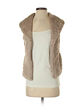 Me Jane Faux Fur Vest Size XS