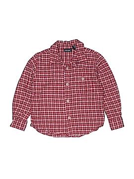 Cherokee Long Sleeve Button-Down Shirt Size 5T