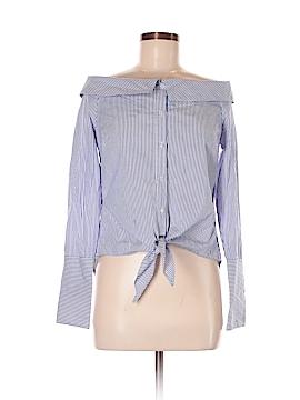 Romeo & Juliet Couture Long Sleeve Button-Down Shirt Size M