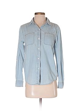 Adam Levine Long Sleeve Button-Down Shirt Size XS