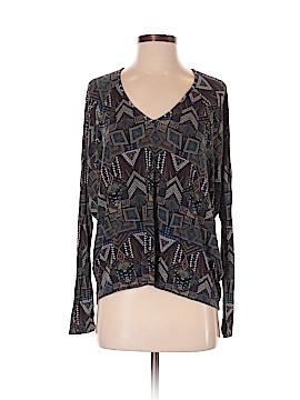 Velvet Long Sleeve Top Size P