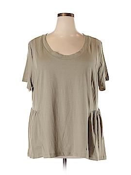 American Rag Short Sleeve Top Size 2X (Plus)