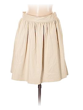 Nili Lotan Leather Skirt Size M