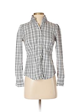 Ann Taylor LOFT Outlet Long Sleeve Button-Down Shirt Size 2