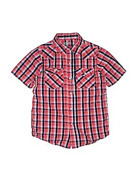 Arizona Jean Company Sleeveless Button-Down Shirt Size 6 - 7