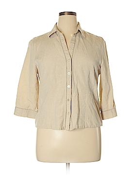 Petite Sophisticate Long Sleeve Blouse Size 14 (Petite)