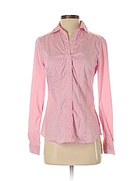 White House Black Market 3/4 Sleeve Button-Down Shirt Size 2