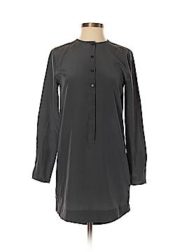 ALTERNATIVE Long Sleeve Silk Top Size XS