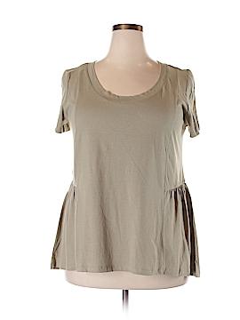 American Rag Short Sleeve Top Size 1X (Plus)