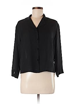 HARARI Silk Blazer Size M