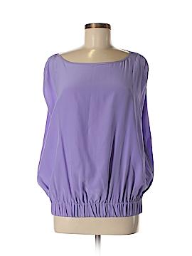 Diane von Furstenberg Short Sleeve Silk Top Size 8