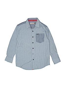 Sovereign Code Long Sleeve Button-Down Shirt Size 8