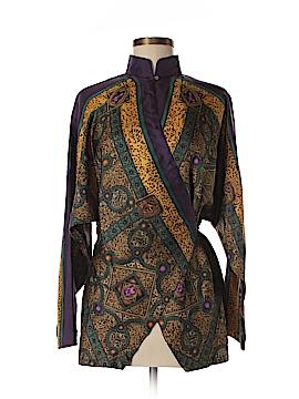 Nicole Miller Silk Cardigan Size M