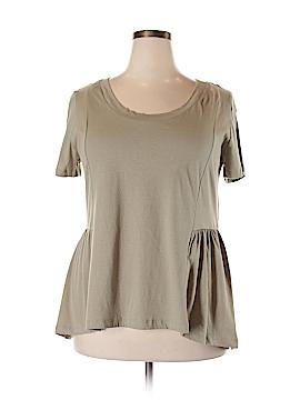 American Rag Short Sleeve Top Size 0X (Plus)