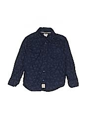 Carter's Boys Long Sleeve Button-Down Shirt Size 4