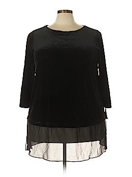 Alfani Long Sleeve Blouse Size 3X (Plus)